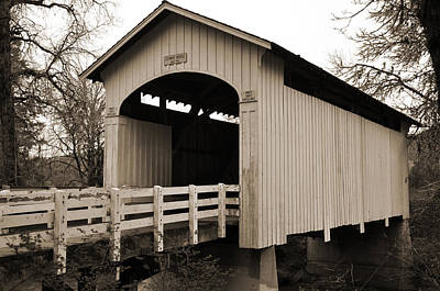 Oregon Covered Bridges Digital Art - Stewart Bridge by Kirt Tisdale