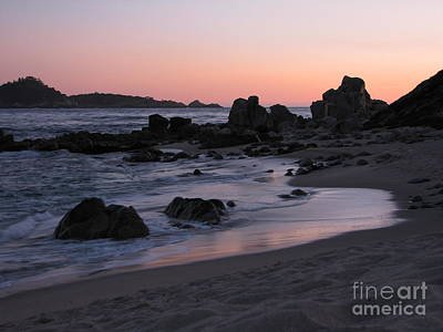 Stewart's Cove At Sunset Art Print
