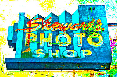 Photograph - Stewart's Photo Shop by Gail Lawnicki
