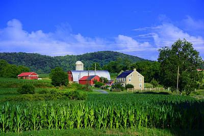 Photograph - Stewartsville Farm by Raymond Salani III