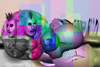 Rhythm And Blues Digital Art - Sth Dimension Transfermation 11 by Sir Josef - Social Critic -  Maha Art