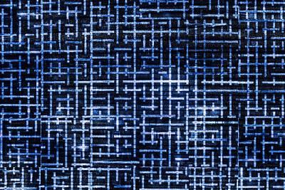 Stick Labyrinth Art Print by Hakon Soreide