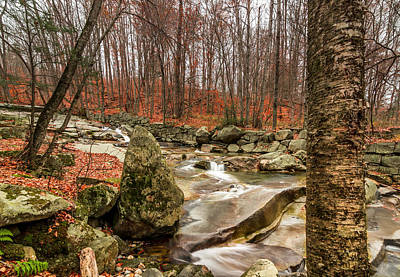 Photograph - Stickney Brook 3 by Jeremy Farnsworth