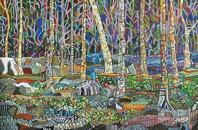 Painting - Sticks And Stones by Deborah Glasgow