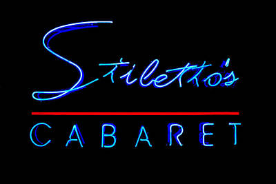 Photograph - Stiletto's Cabaret by Sennie Pierson