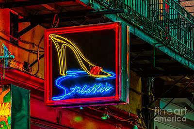 Photograph - Stilettos On Bourbon Street Nola by Kathleen K Parker