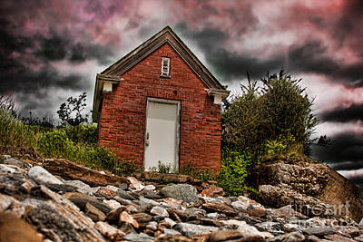 Fort Stark Photograph - Still Against The Wind by K Hines