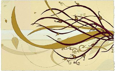 Painting - Still Branches Of Life by Florian Rodarte