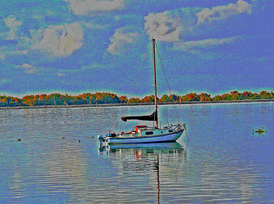 Photograph - Still Delta Waters by Joseph Coulombe
