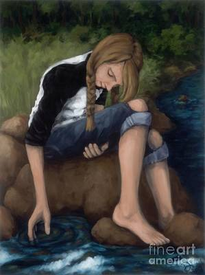 Introspective Painting - Still by Diane Smith