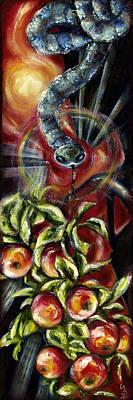 Surrealism Painting - Still... by Hiroko Sakai
