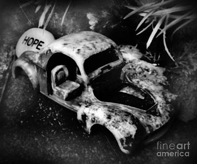 Still In The Trunk And Written In Stone Art Print by John Malone