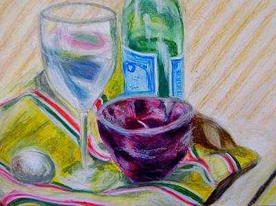 Pastel - Still Life 2014 by Therese Legere