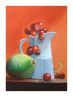 Pastel Painting - Still Life 7 by Graciela Scarlatto