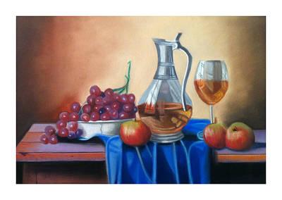 Pastel Painting - Still Life 9 by Graciela Scarlatto