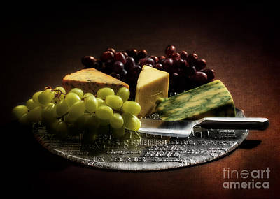 Buffet Photograph - Still Life by Amanda Elwell