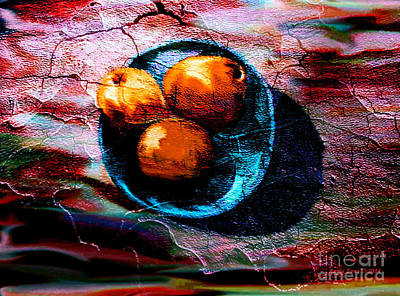 Digital Art - Still Life Artwork Of Fruit by Annie Zeno
