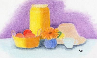 Drawing - Still Life by Bav Patel