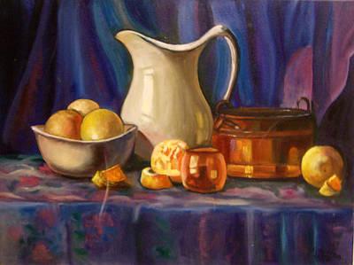 Still Life Original by Colomba Furio-Spigner