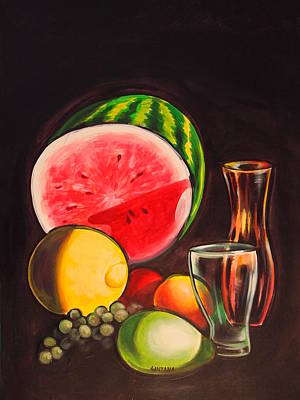 Painting - Still Life by Dayna Reed
