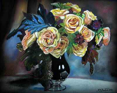 Still Life Flowers Art Print