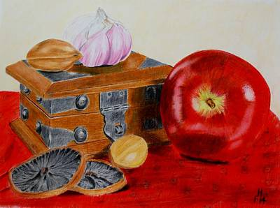 Painting - Still Life by Frank Hamilton