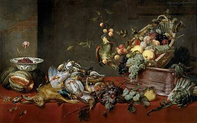 Frans Snyders Painting - Still Life by Frans Snyders