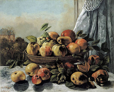 Painting - Still Life Fruit by Gustave Courbet