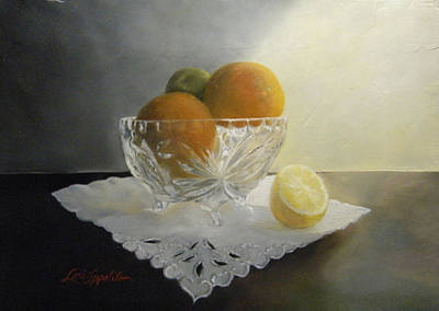 Painting - Still Life In Crystal by Lori Ippolito