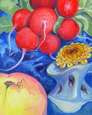 Painting - Still Life In Darree's Basement by Laura Dozor