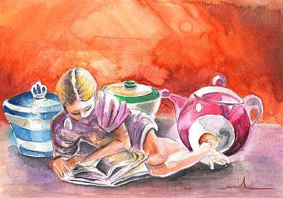 Still Life In Loket  Art Print by Miki De Goodaboom