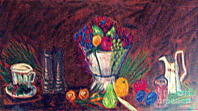 Photograph - Still Life In Pastel by Merton Allen