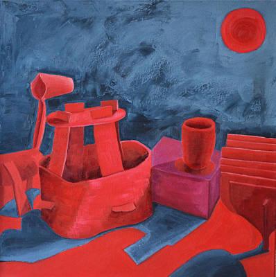 Still Life In Red Original