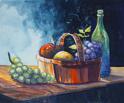 Painting - Still Life In Watercolours by Karon Melillo DeVega