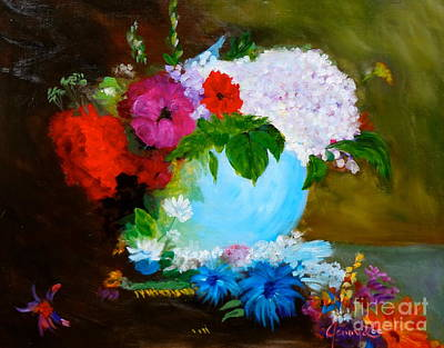 Art Print featuring the painting Still Life by Jenny Lee