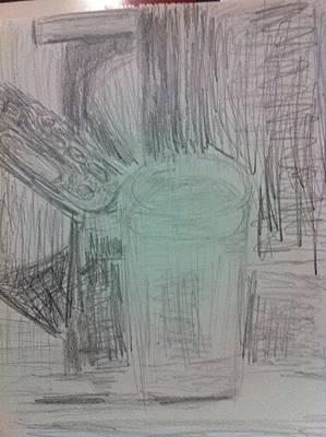Drawing - Still Life by Khoa Luu