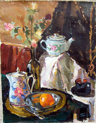 Painting - Still Life by Georg Ivosevic