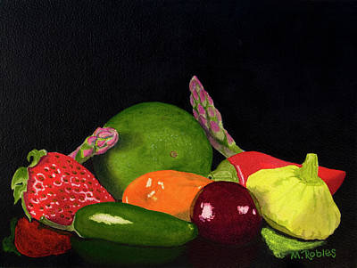 Still Life No. 3 Art Print by Mike Robles