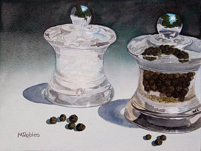 Still Life No. 4 Art Print by Mike Robles