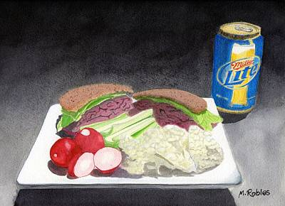 Still Life No. 7 - My Lunch Original