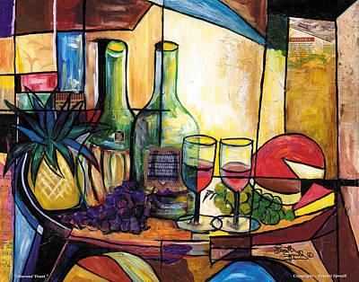 Still Life / Sharons' Feast Art Print