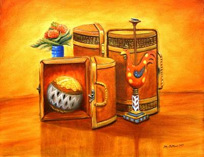 Painting - Still Life by Stacy C Bottoms