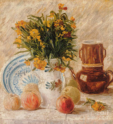 Of Flowers Painting - Still Life by Vincent van Gogh