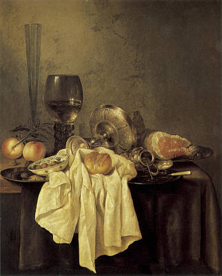 Painting - Still Life by Willem Claesz Heda