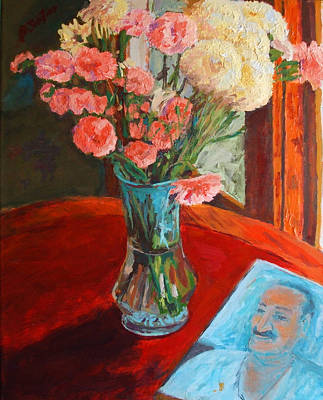 Baba Painting - Still Life With Baba by Joe DiSabatino