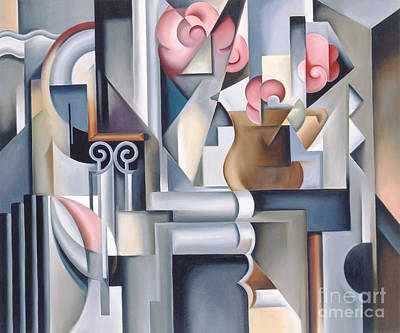 Painting - Still Life With Brown Jug by Catherine Abel