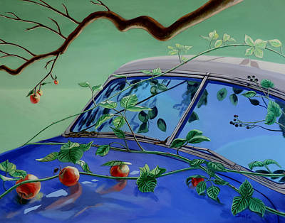 Still Life With Car Art Print