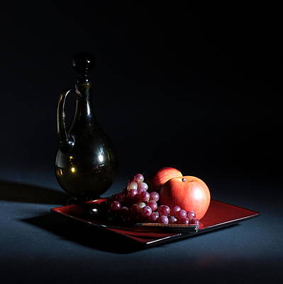 Photograph - Still Life With Decanter by Joe Kozlowski