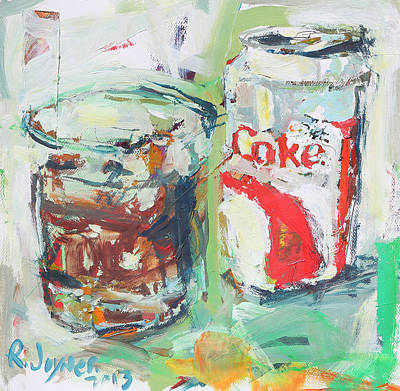 Painting - Still Life With Diet Soda by Robert Joyner