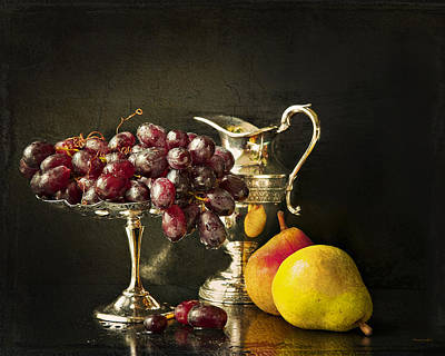 Still Life With Fruit Art Print by Theresa Tahara